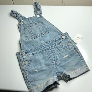 Baby gap overall shorts item#110